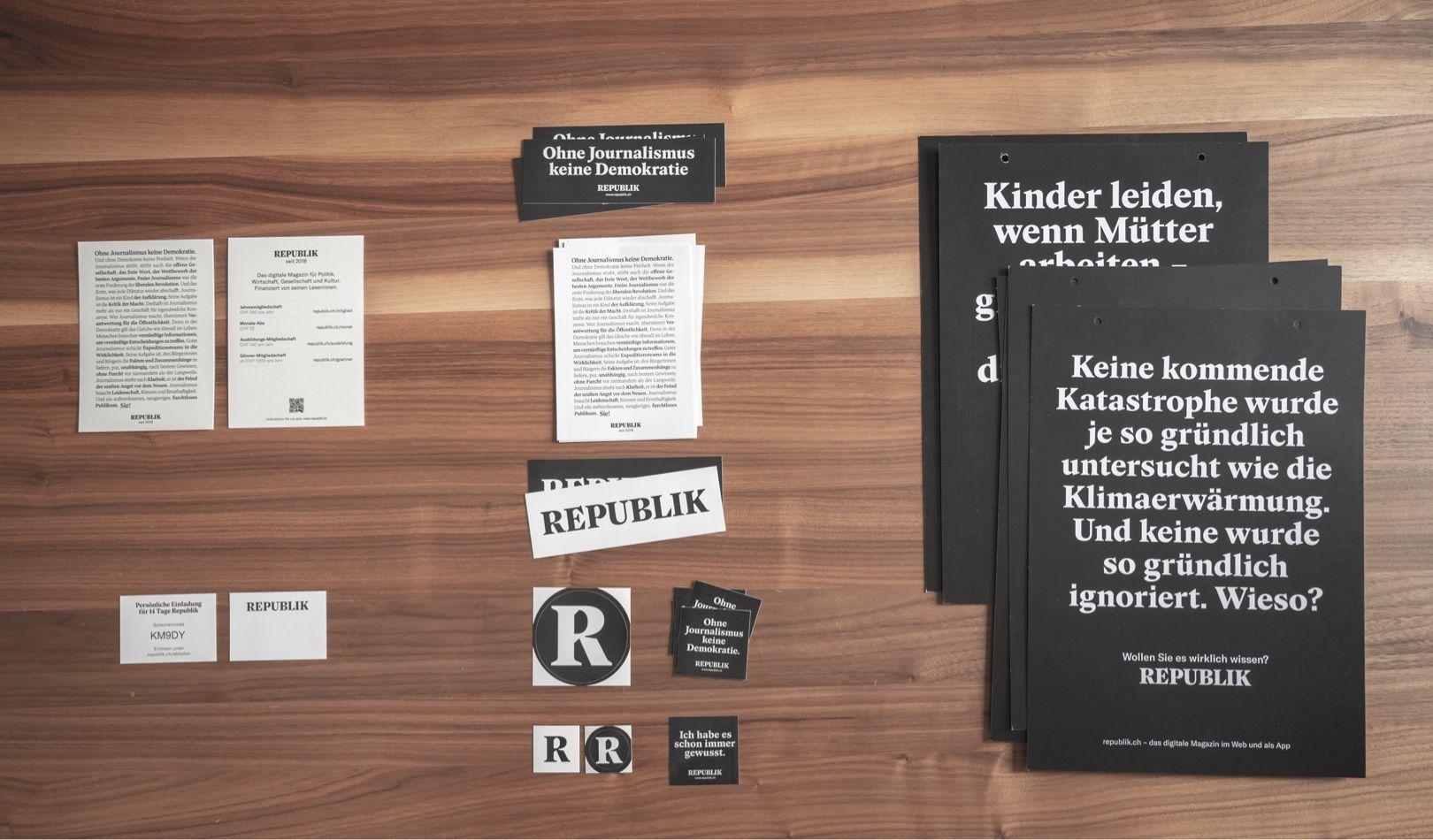 Flyer, Visitenkarten, Kleber und Poster