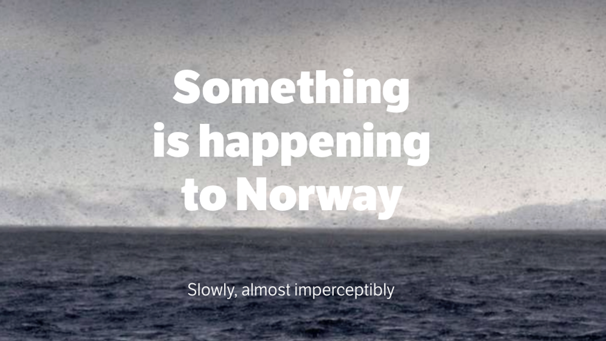 Our climate journey through Norway