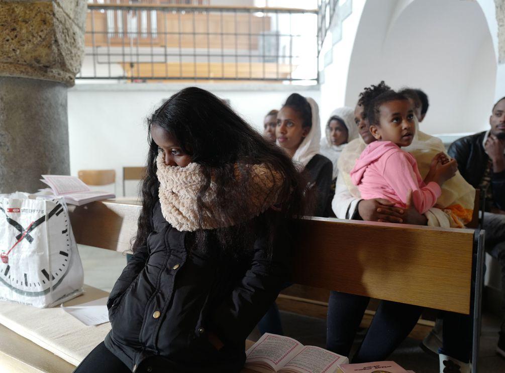 Eritreische Diaspora in der katholischen Kirche St. Luzi in Chur